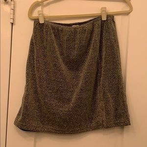 Fun night out shimmery skirt